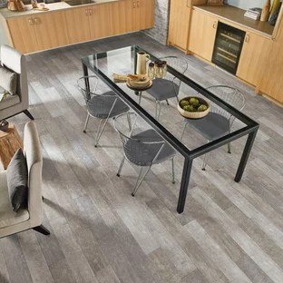 gray kitchen floor wooden set for toddlers grey wood ideas photos houzz mid sized transitional eat in designs l