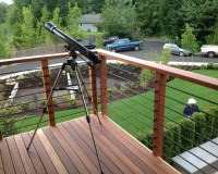 Modern Deck Rail | Houzz