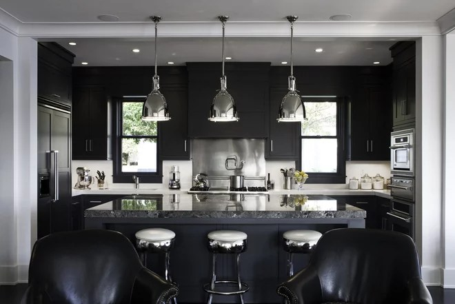 Transitional Kitchen by LDa Architecture & Interiors
