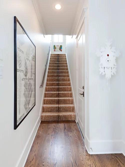 Houzz Carpet Runners On Narrow Stairs Design Ideas | Narrow Carpet Runners For Stairs