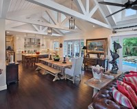 Vaulted Ceiling Great Room | Houzz