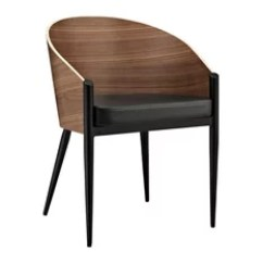 Houzz Dining Chairs Contemporary Desk Chair Accessories 50 Most Popular Room For 2019 Modway Cooper Wood Armchair Walnut