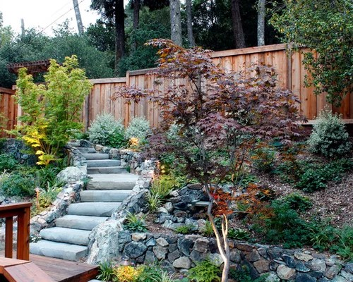 Uphill Landscape Design Ideas & Remodel Pictures Houzz