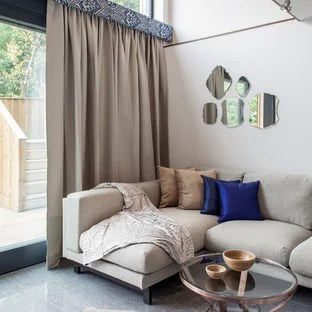blinds for living room with curtains balloon ideas photos houzz inspiration a transitional formal remodel in london beige walls and no tv