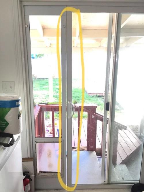 weatherproofing dog door insert