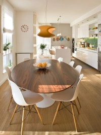 Best Oval Dining Table Modern Design Ideas & Remodel ...