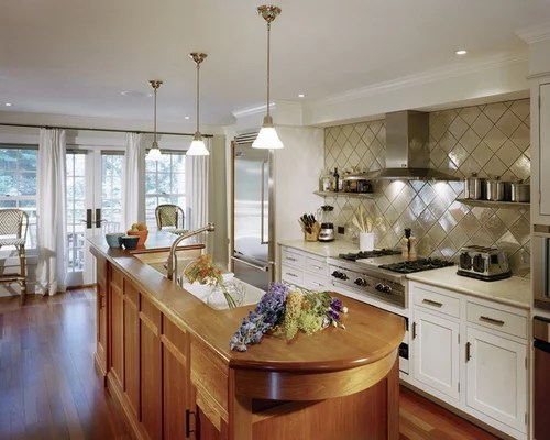 kitchen farm sink best off white color for cabinets diamond shaped backsplash tile | houzz