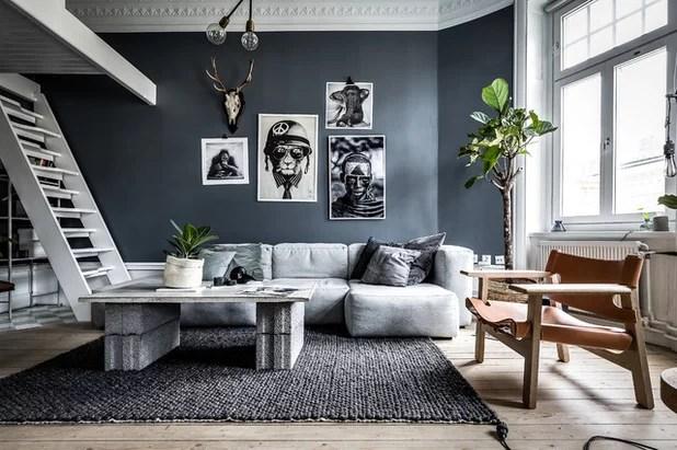 Shades of Grey 9 Tipps fr dunkle Wnde im Wohnzimmer