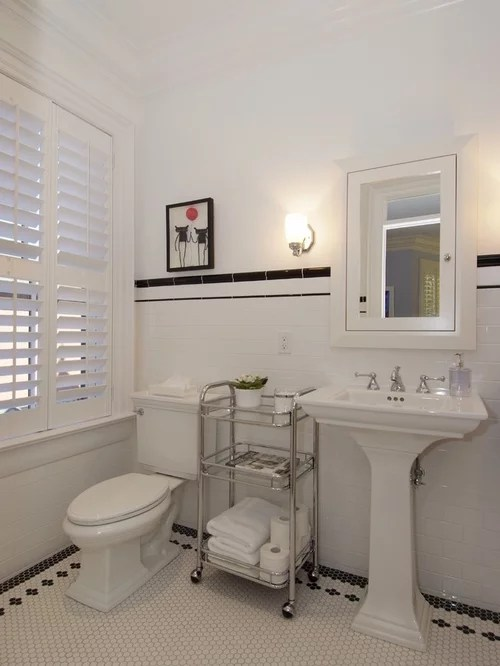 Victorian Bathroom Design Ideas Renovations  Photos with Ceramic Tile