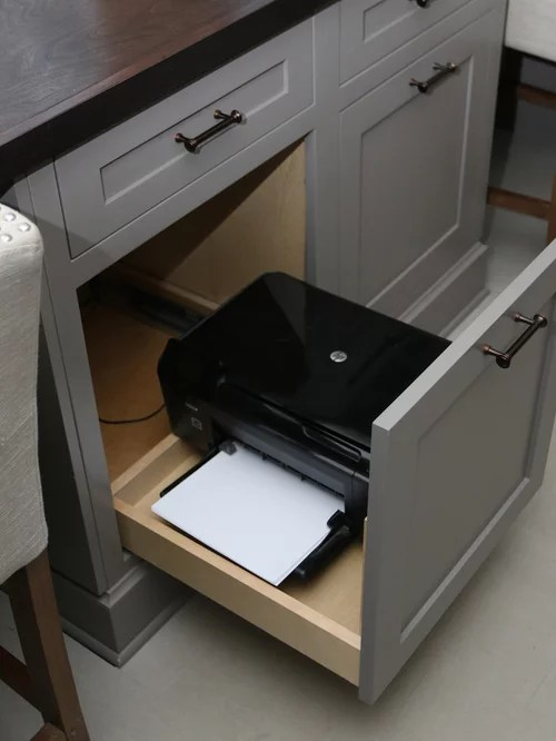 Printer Storage  Houzz