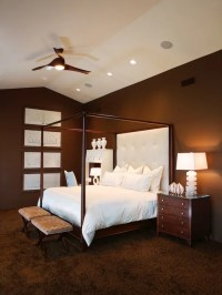 White And Brown Bedroom | Houzz
