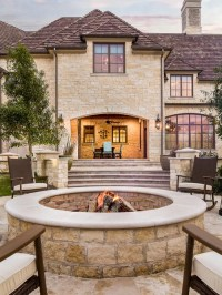 Stone Fire Pit Home Design Ideas, Pictures, Remodel and Decor