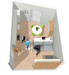Ecco una pratica guida per creare un openspace usando una penisola, un divano o un tavolo al posto di ingombranti muri divisori. Consiglio Cucina E Soggiorno 18mq