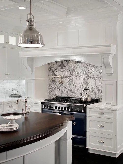 Gray And White Backsplash Ideas Pictures Remodel And Decor