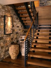 5,723 Rustic Staircase Design Ideas & Remodel Pictures | Houzz