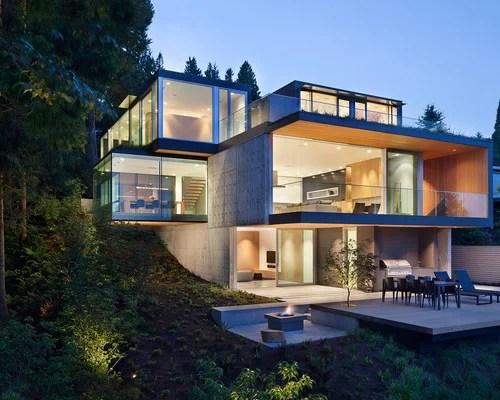 Hillside Walkout House Plans Houzz