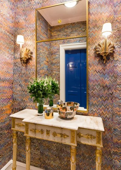 Eclectic Entry by Summer Thornton Design, Inc