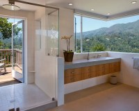 Houzz | Shower Door To Outside Design Ideas & Remodel Pictures