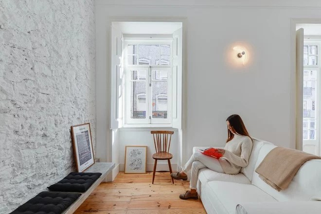 Scandinavian Living Room by UP interiors