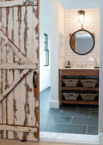 Rustic Bathroom by Lemon Grass Interior Architecture