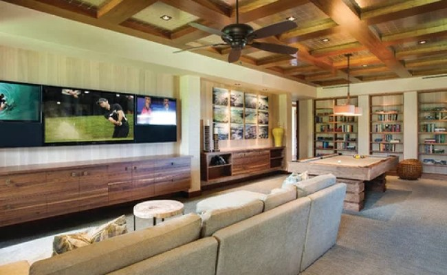 Game Room With Tv Home Design Ideas Pictures Remodel And
