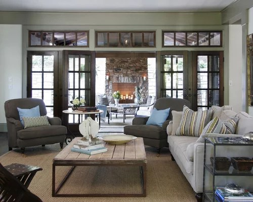 Shabby Chic Style Living Room By Catherine Sandin