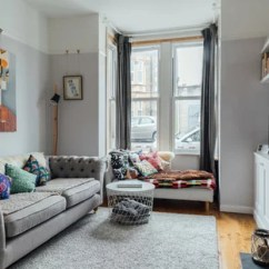 Decorating Ideas For Living Rooms With Grey Walls Target Clocks Room 75 Most Popular Design 2019 Stylish A Scandi Enclosed In Other Medium Hardwood