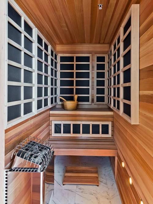 Infrared Sauna Design Ideas  Remodel Pictures  Houzz