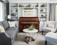 Piano In Living Room Home Design Ideas, Pictures, Remodel