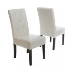 White Leather Chairs Dining Grey Scoop Back 50 Most Popular Chair For 2019 Houzz Alexander Ivory Set Of 2