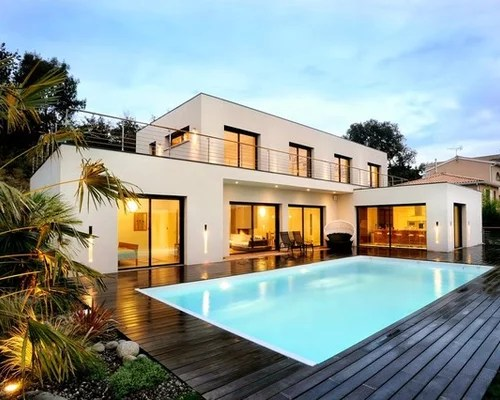 Moderne  Photos et ides dco dabris de piscine et pool houses