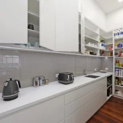 Pantry Kitchen Mirrors 75 Most Popular Design Ideas For 2019 Stylish Photo Of A Contemporary Single Wall In Melbourne With An Undermount Sink