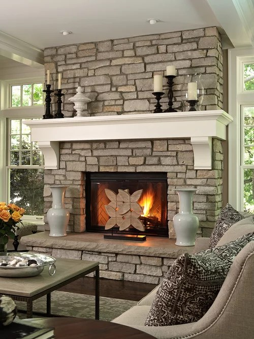 Beautiful Design Ideas For Fireplace Mantels Pictures Decorating