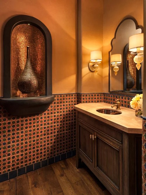 Moroccan Style Bathroom Home Design Ideas Pictures