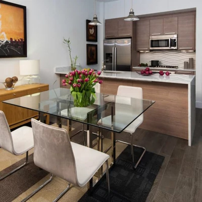 Contemporary Kitchen Condo, Washington DC