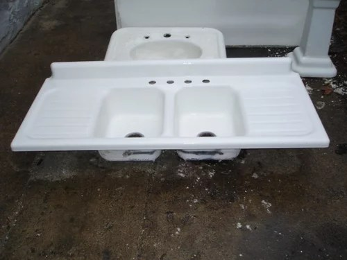 https www houzz com discussions 2664639 second thoughts about my sink vintage 40s kohler drainboard