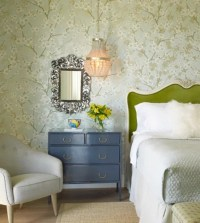 Transitional Green Bedroom Design Ideas, Remodels & Photos ...