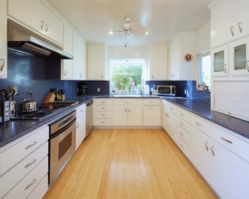 white kitchen cabinets blue countertops Best Oyster Pearl Granite Ideas Design Ideas & Remodel