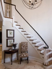 Foyer With Stairs Ideas, Pictures, Remodel and Decor