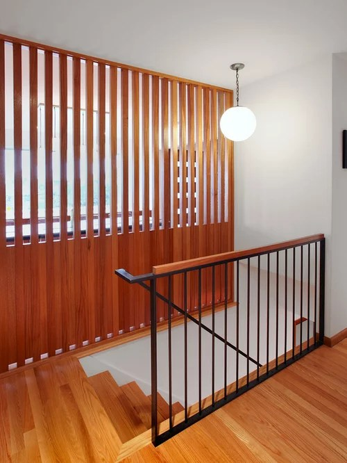 Wood Slat Partition Home Design Ideas Pictures Remodel