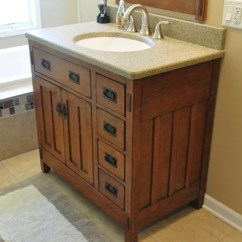 Kitchen Sink Without Cabinet Retro Table And Chairs Mission Style Vanity | Houzz