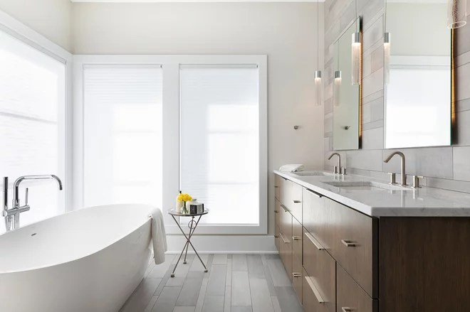 Contemporary Bathroom by Alexander Design Group, Inc.