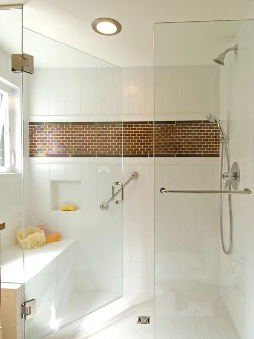 Tile Shower Alcove Home Design Ideas Pictures Remodel
