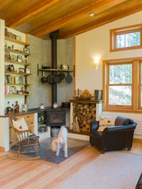 Corner Wood Burning Stove | Houzz