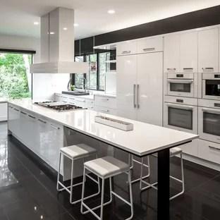 Black And White Checker Floor Kitchen Ideas & Photos Houzz