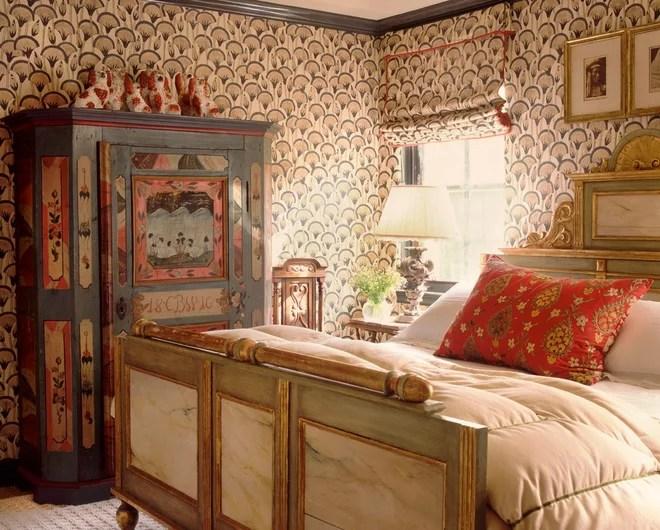 Eclectic Bedroom by Katie Leede & Company Studio