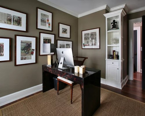 home office paint color ideas Farrow And Ball Mouse's Back Home Design Ideas, Pictures, Remodel and Decor
