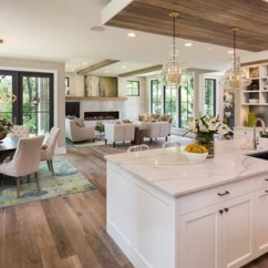 Kitchen Designs Com Green Decor 75 Most Popular Design Ideas For 2019 Stylish Transitional Open Concept Light Wood Floor Photo In Minneapolis
