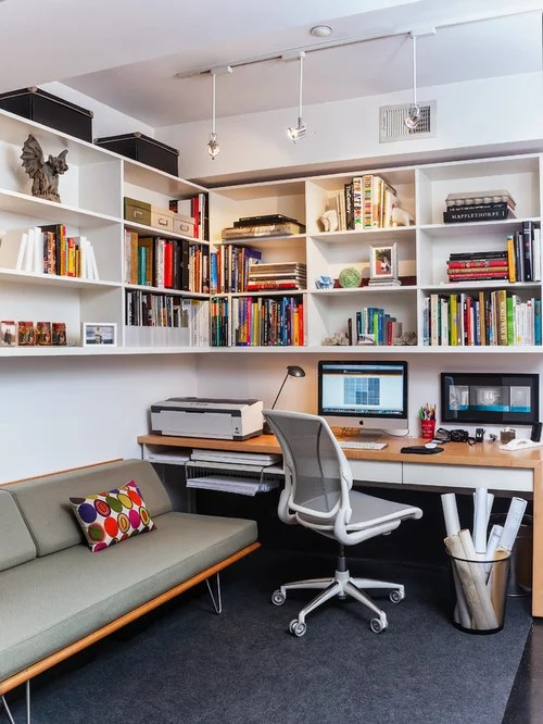 Contemporary Home Office Design Ideas Remodels  Photos