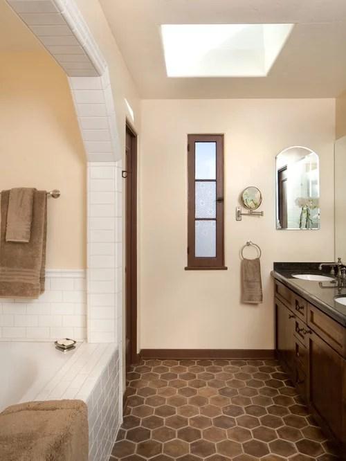 Dark Wood Bathroom Houzz